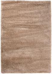 HIMALAYA Area Rug Shaggy 5cm Long Pile Plain One Colour Beige