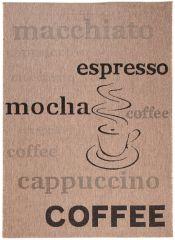 FLOORLUX Vloerkleed Tapijt Bruin Coffee Cappuccino Design