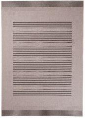 FLOORLUX Teppich Flachgewebe Sisal Modern Beige Streifen