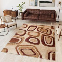 DREAM Vloerkleed Creme Design Modern Geometrische Vormen Sfeervol