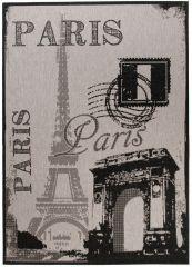 FLOORLUX Vloerkleed Tapijt Antraciet Grijs Paris Design Modern