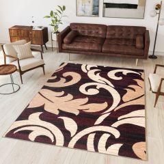 DREAM Vloerkleed Kleurrijk Beige Bloemen Design Modern Duurzaam