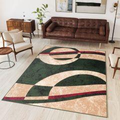 Dream Vloerkleed Kleurrijk Abstract Lijnen Modern Geometrisch