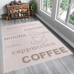 FLOORLUX Sisal Area Rug Coffee Mat Dining Kitchen Brown Beige
