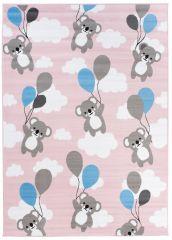 PINKY Area Rug Children Room Bedroom Play Mat Koala Pink
