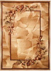 DORIAN Vloerkleed Tapijt Lichtbeige Bloemen Klassiek Sfeervol