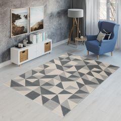CAN Tappeto Geometrico Moderno Multicolore Chiaro
