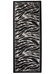 DREAM Loper Zwart Grijs Zebra Modern Interieur Duurzaam Design