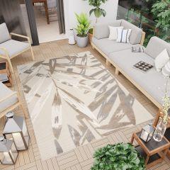 PATIO Outdoor Indoor Sisal Modern Terrace 3D Effect Cream Beige