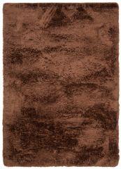 BIRD Teppich Shaggy Weich Braun Einfarbig Wohnzimmer Schlafzimmer