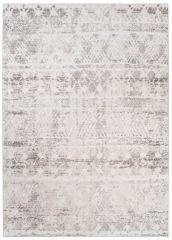 TROYA Area Rug Cream Beige Ethno Motif Durable Carpet