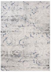 TROYA Area Rug Trellis Cream Light Grey Blurred Durable Carpet