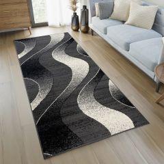 DREAM Loper Donkergrijs Modern Abstract Woonsfeer Praktisch