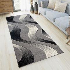 DREAM Loper Grijs Modern Abstract Woonsfeer Duurzaam Interieur