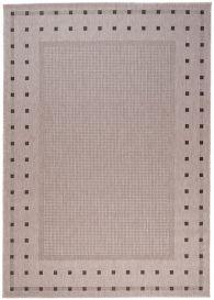 FLOORLUX Teppich Flachgewebe Sisal Beige Modern Design