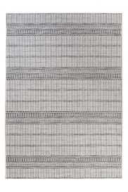 PRIME Indoor Outdoor Area Rug Sisal Kitchen Dining Stripes Grey