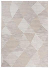PRIME Vloerkleed Creme Woonsfeer Modern Geometrisch Woonsfeer