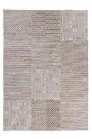 Prime Teppich Sisal Outdoor Beige Braun Modern Karo Design