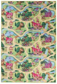 NINO Area Rug Children Room Bedroom Play Mat Candy Town