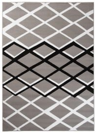 DREAM Vloerkleed Grijs Diamond Praktisch Geometrisch Duurzaam