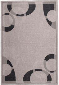 FLOORLUX Vloerkleed Tapijt Grijs Antraciet Abstract Duurzaam Design