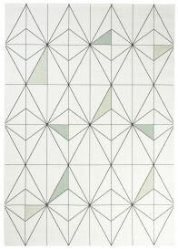 JUNGLE Teppich Sisal Outdoor Flachgewebe Creme Geometrisch Terrasse