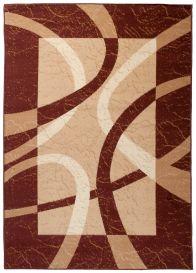 DREAM Vloerkleed Bruin Creme Design Modern Geometrische Vormen