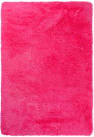SILK Tapis Moderne Fuchsia Antidérapant Super Moelleux Shaggy