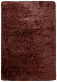 SILK Tapis Moderne Marron Antidérapant Super Moelleux Shaggy