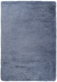 SILK Shaggy Area Rug Modern Fluffy Plain Non-Slip Dark Grey