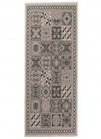 Floorlux Teppichläufer Flur Sisal Schwarz Mosaik