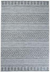 Terazza Teppich Sisal Modern Design Grau Schwarz Creme