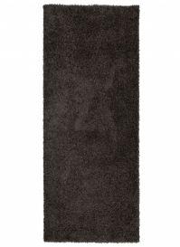 ESSENCE Tapis de Passage Moderne Anthracite Poil Longue Shaggy