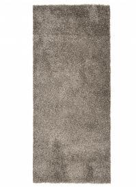 ESSENCE Tapis de Passage Moderne Gris Foncé Poil Longue Shaggy
