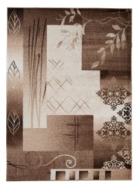 TANGO Vloerkleed Bruin Creme Abstract Design Modern Interieur