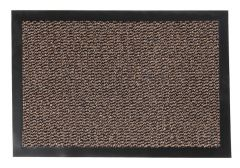 Orkan Non-Slip Door Mat Rubber Backed Entrance Dark Beige
