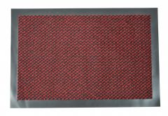 ORKAN Non-Slip Door Mat Rubber Backed Entrance Red