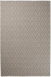 NATURE Teppich Flachgewebe Modern Sisal Karo Beige Braun