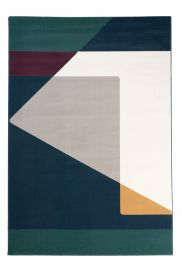 CAN Area Rug Modern Abstract Contemporary Geometric Multicolour