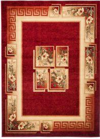 Royal Tappeto Tradizionale Rosso Intenso Fiori