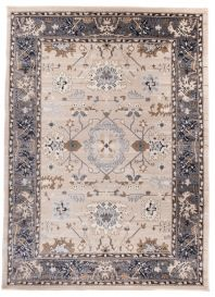 COLORADO Area Rug Traditional Classic Frame Ornamental Beige