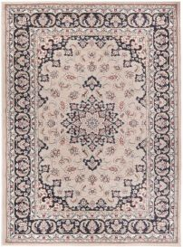 COLORADO Area Rug Classic Traditional Decorative Ornament Beige