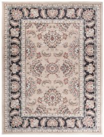 COLORADO Traditional Area Rug Classic Ornament Timeless Beige