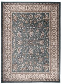 COLORADO Area Rug Traditional Classic Frame Universal Blue