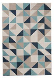 CAN Tappeto Geometrico Moderno Astratto Multicolore