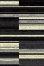 QMEGA Vloerkleed Zwart Design Modern Interieur Sfeervol Duurzaam