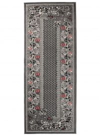 DREAM Carpet Runner Modern Decorative Floral Hallway Grey