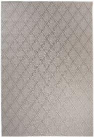 NATURE Teppich Outdoor Sisal Karo Grau Beige Modern Design