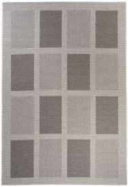 NATURE Indoor Outdoor Area Rug Kitchen Rectangle Silver Grey