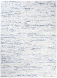 Sky Modern Abstract Flecked Lines Multicolour Blue White